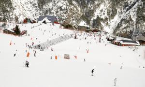 Les pistes d'esquí d'Arinsal, un sector en el qual es millorarà la innivació.