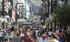 Les principals accions de l'Andorra Shopping Festival tenen l'Eix Central com a escenari.