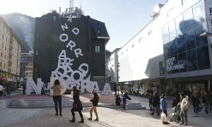 El Comú conserva les places que quedaran al voltant d'on s'ha de construir el nou edifici d'Andorra Telecom.