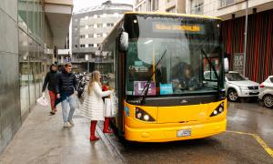 Els usuaris del transport públic intern augmenten un 5% el 2017