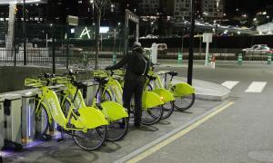 El servei de bicicleta elèctrica compartida impulsat pel Govern.