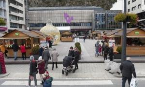 La plaça de la Germandat serà el punt de distribució dels autotests a Sant Julià.