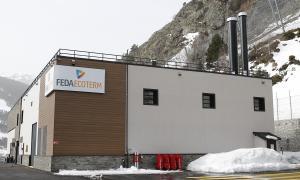 La central de cogeneració de Soldeu impulsada per FEDA.