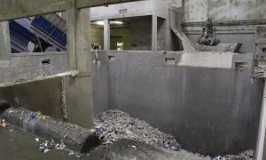 El Centre de Tractament de Residus de la Comella.