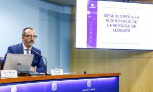 El ministre d'Afers Socials, Habitatge i Joventut, Víctor Filloy, ahir.
