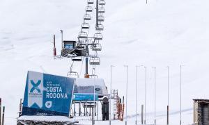 Les pistes d'esquí de Grandvalira al Pas de la Casa.