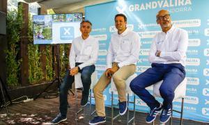 David Hidalgo (Ensisa), Alfonso Torreño (Nevasa) i Xavier Salinas (Saetde) van presentar ahir la temporada d'estiu.