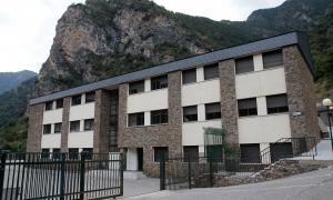 El centre de la Margineda del col·legi espanyol María Moliner.