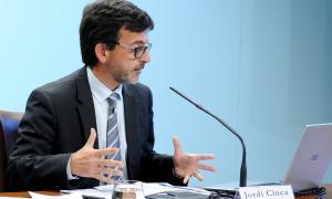 El ministre de Finances, Jordi Cinca, va presentar ahir la liquidació del pressupost de l'exercici 2017.