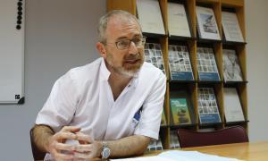 Marcos Gutiérrez és cap del servei d'Urgències.
