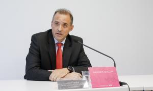 El director general d'Andorra Telecom, Jordi Nadal, va fer ahir en solitari l'anunci de la suspensió.