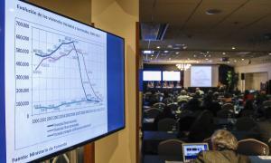 Un moment del congrés de la Federació Iberoamericana de l'Ombudsman que va tenir lloc ahir a Andorra la Vella.