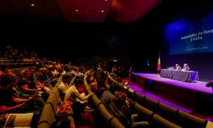 Josep Miquel Vila i Julià Call van exposar la tasca feta aquest mandat en la reunió de poble d'ahir.