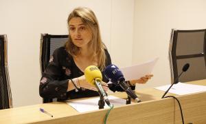 Sophie Bellocq és degana del Col·legi d'Advocats.