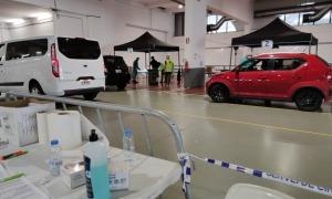 Els voluntaris que participen en el cribatge es van fer ahir el segon test als Stop Labs d'Escaldes-Engordany i d'Andorra la Vella.
