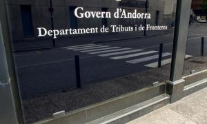 Vista del departament de Tributs i Fronteres del Govern.