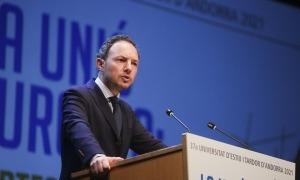 El cap de Govern, Xavier Espot, va ser l'encarregat d'inaugurar ahir la 37a Universitat d'Estiu i Tardor