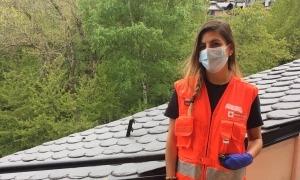 Paloma Gómez és monitora d'esquí i de lleure i viu a Arinsal.
