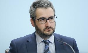 El ministre de Finances, Eric Jover, en la compareixença d'ahir.