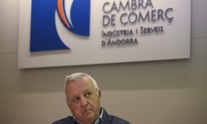 El predident de la Cambra de Comerç, Miquel Armengol.
