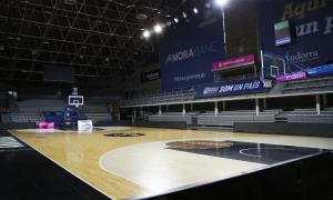 El Poliesportiu d'Andorra viurà diumenge el seu primer partit oficial de la història a porta tancada a causa del coronavirus.