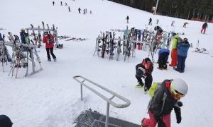 Les pistes d'esquí de l'estació de Pal.