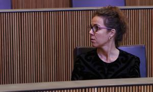 La consellera del PS Judith Salazar.