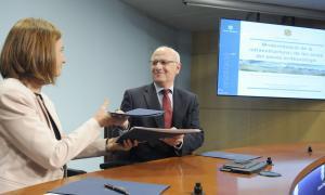 El Govern renova l'històric acord amb Météo France com a base per completar la modernització del Servei Meteorològic