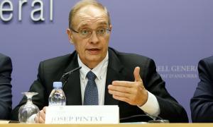 El conseller d'UL-ILM i president del grup mixt, Josep Pintat.