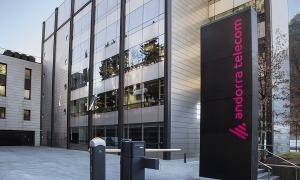 L'edifici Nexus d'Andorra Telecom.