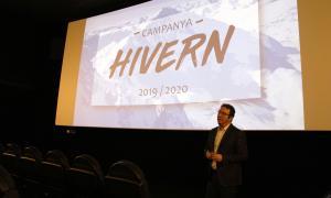 El gerent d'Andorra Turisme, Betim Budzaku, en la presentació de la campanya d'hivern, ahir.