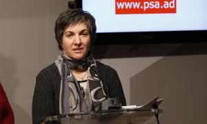 La consellera socialdemòcrata al Comú d'Escaldes-Engordany, Cèlia Vendrell.