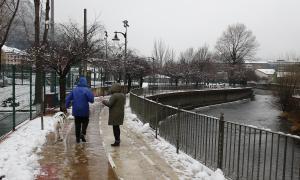Les precipitacions han estat més importants del previst i a 1.000 metres han caigut 10 centímetres de neu.