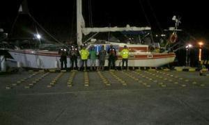 Confiscat un veler amb bandera d'Andorra i 103 quilos de cocaïna