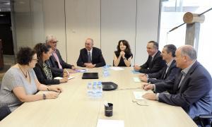 Els responsables de la gestió del trànsit i les autoritats de les carreteres de Catalunya i Andorra es van reunir ahir.