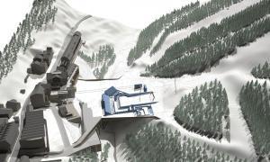 Arrenca la primera fase de les obres de la plataforma esquiable de Soldeu