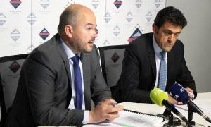 Els cònsols Jordi Torres i Josep Àngel Mortés van actuar ahir de portaveus de la reunió de cònsols.