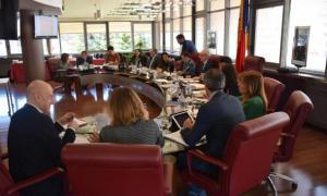 Els cònsols de les set parròquies en una reunió conjunta.