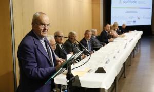 El president de la Federació d'Associacions de la Gent Gran, Simó Duró.