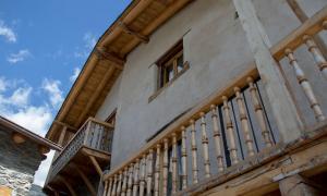 Una casa rural ubicada a la Cortinada, a la parròquia d'Ordino.