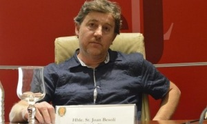 L'exconseller comunal Joan Besolí.