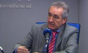 El president d'SDP, Jaume Bartumeu, va participar ahir a l''Ara i aquí' d'RNA.