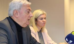 Gerard Cadena i Elena Redondo van presentar ahir el nou servei de consultes de la CEA.
