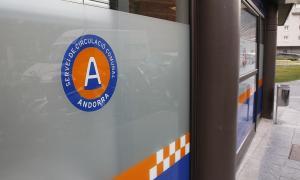El despatx del Servei de Circulació del Comú d'Escaldes-Engordany.