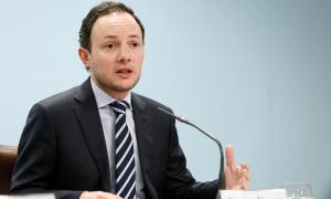 El ministre d'Afers Socials, Justícia i Interior, Xavier Espot, va presentar ahir el projecte de llei del Tribunal d'arbitratge.