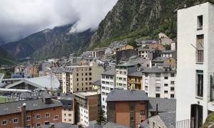 Edificis d'habitatges a Andorra la Vella.