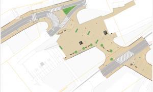 El projecte de reforma de la plaça de la Rotonda.