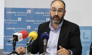 El secretari general de Liberals d'Andorra, Amadeu Rossell.