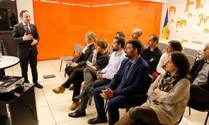 Un moment de la sessió de DA dedicada a la problemàtica de l'habitatge.