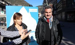 Justo Ruiz i Vicky Grau van presentar ahir les polítiques esportives de DA.